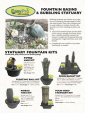 Fountain Statuary and Basins Brochure