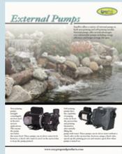 External Pump Brochure